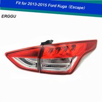 ERGGU Car Styling For Ford Escape KUGA TAIL Lights LED Tail Light LED Rear Lamp DRL