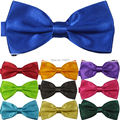 2017 Hot Solid Color Bow Tie Mens Butterfly Cravat Bowtie Male Many Colors Neon Marriage Bow Ties for Men Brand Mens Neckties