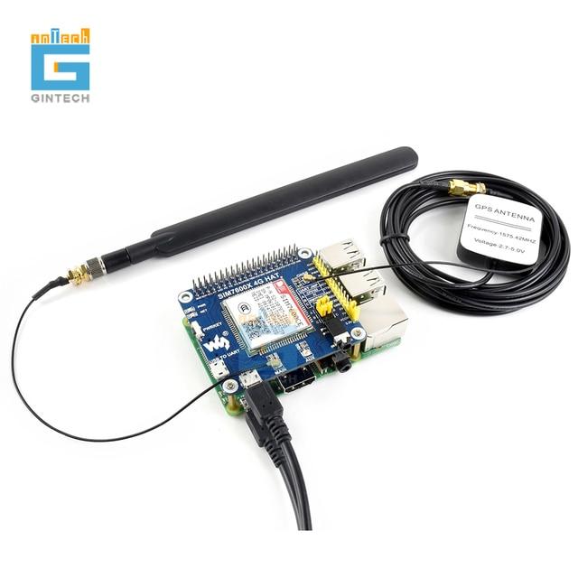 SIM7600A H SIM7600E H SIM7600G H SIM7600CE 4G قبعة 4G/3G/2G/GSM/GPRS/GNSS قبعة ل التوت بي ، LTE CAT4