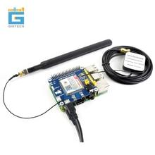 SIM7600A H SIM7600E H SIM7600G H SIM7600CE 4G kapelusz 4G/3G/2G/GSM/GPRS/GNSS kapelusz dla Raspberry Pi, LTE CAT4