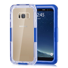 Under Water Swimming Cover Phone Case For Samsung S6 S7 Edge S10 Plus Waterproof iPhone X XR XS Proof