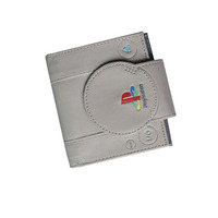 New PlayStation Games Mens Wallets Short Slim Leather Women Purse Money Bags Zipper Coins Pockets Cards
