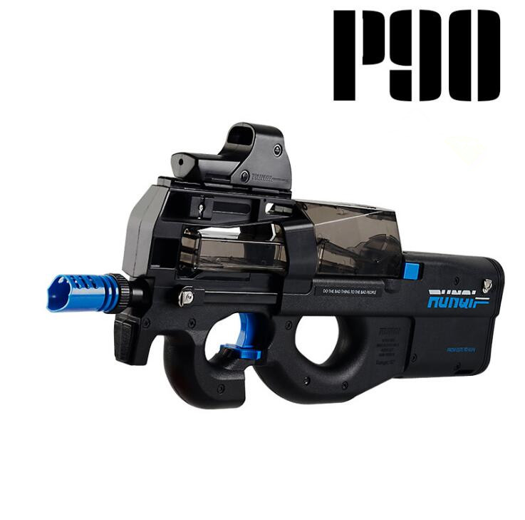 new P90 Electric Toy Gun Graffiti Edition Live CS Assault Snipe Weapon Soft Water Bullet Bursts Gun Funny Outdoors Toys For Kid waterproof connector aviation plug sp16 type ip68 cable connector socket male and female industry wire cable 2 3 4 5 6 7 9 pin