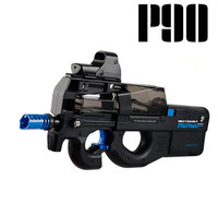 new P90 Electric Toy Gun Graffiti Edition Live CS Assault Snipe Weapon Soft Water Bullet Bursts Gun Funny Outdoors Toys For Kid