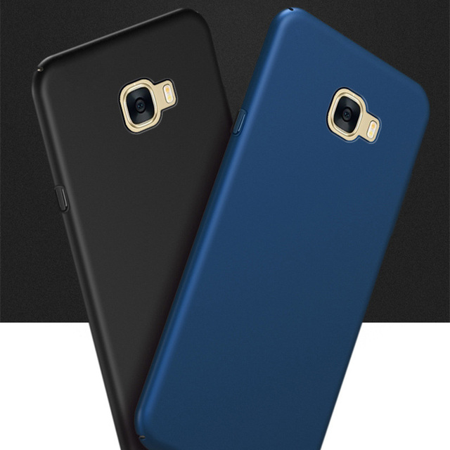 competitive price 804ba 1c8e0 US $3.29 45% OFF|For Samsung J7 Prime Case Ultra Thin Slim Back Hard PC  Phone Protective Cover For Samsung Galaxy J7 Prime SM G610F G610 + Gift-in  ...