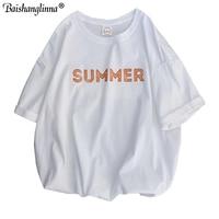 Baishanglinna Men T Shirt Hip Hop Summer Letter Printed Hiphop T Shirt Harajuku Tshirt Streetwear 2019 Summer Tops Tees Cotton