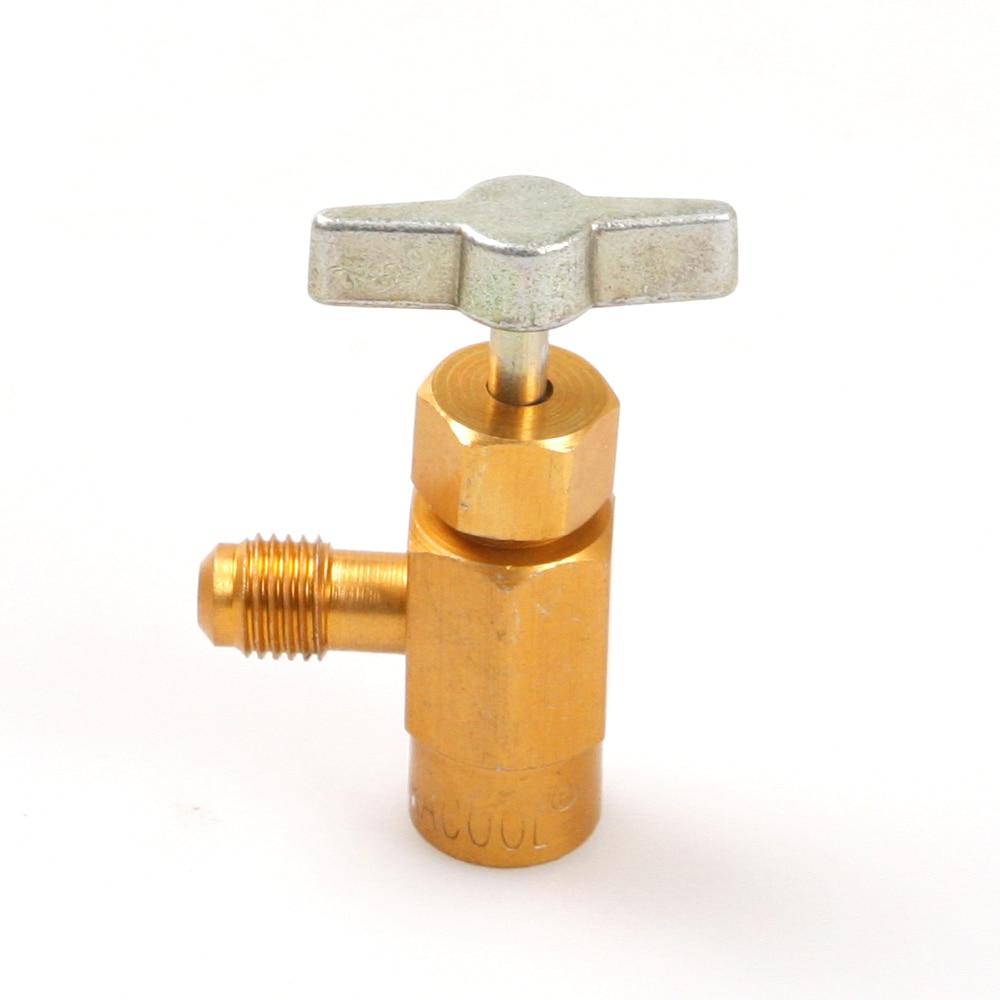 все цены на M14 Thread 1/4 SAE Adapter R-134a Refrigerant Can Bottle Tap Opener Valve Tool онлайн
