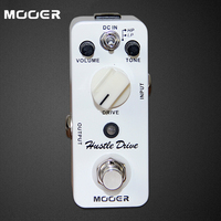 NEW Effect Pedal MOOER Hustle Drive Distortion Pedal True Bypass Excellent Sound