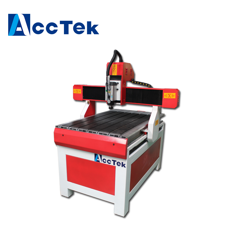 Chinese Homemade Wood Mini Cnc Milling Machine , Industry Advertising Cnc Router 6090 For Metal , Acrylic , MDF