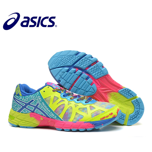 f2a7b7248b New Official Asics Gel-Noosa TRI9 Woman s Shoes Breathable Stable Running  Shoes Outdoor tennis shoes