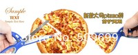 New Arrival Pizza Scissors Stainless Steel Non Stick Soft Rubber Handle Pizza Cutter Pizza Tool Kitchen