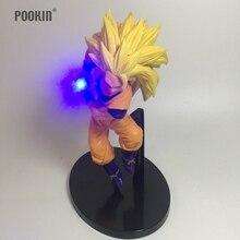 New Dragon Ball Super Son Goku Strength Bombs Luminaria Led Blue Color Night Light Holiday Gift Room Decorative Led Lighting