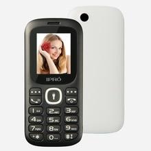 Оригинальный ipro I3185 разблокирована Móviles GSM Dual SIM 1.77 дюймов Bluetooth 2 г сотовый телефон с Английский Испанский Пособия по русскому языку