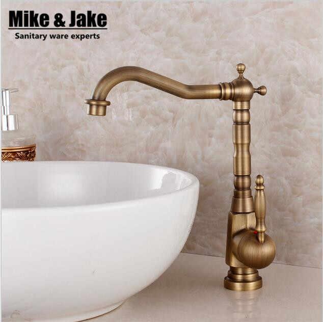 Bronze Faucet Antique Kitchen Mixer