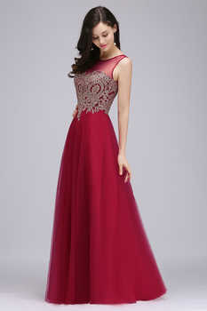 Babyonlinedress Custom Make 34 Colors Lace Chiffon Evening Dress Sexy V Back Sleeveless Evening Gown Robe de Soiree Longue
