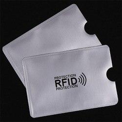 OWGYML 10 шт./компл. RFID экранированная втулка Блокировка карт 13,56 МГц IC защита карт NFC защита карт безопасности Предотвращение несанкционированн...