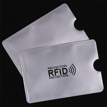OWGYML 10pcs set RFID Shielded Sleeve Card Blocking 13 56mhz IC card Protection NFC security card