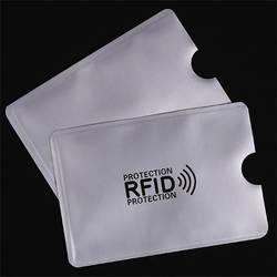 OWGYML 10 шт./компл. RFID экранированный наручный держатель для карт Блокировка 13,56 МГц IC карты защиты NFC безопасности карты предотвратить