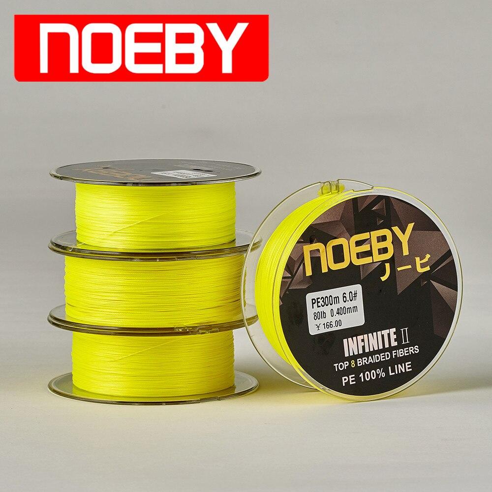 noeby-infinit-ii-300m-pe-tresse-ligne-de-peche-8-brins-10-103-lb-carpe-poisson-tresse-ligne-de-fil-vislijn-tresse-ligne