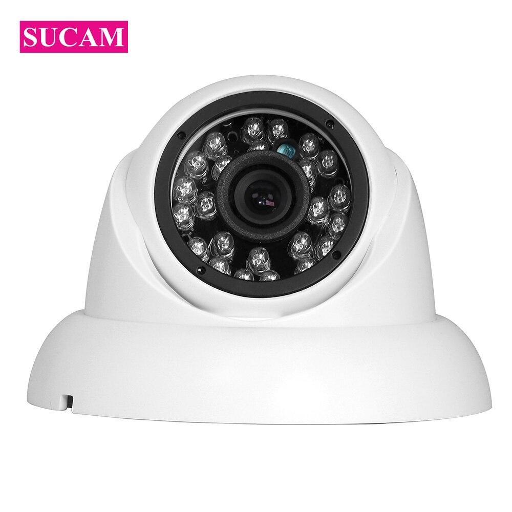 SUCAM 720P 1080P CCTV AHD Camera Infrared 1MP 2MP Night Vision Dome Home Security Surveillance Analog Camera  IR Cut Filter new 4 in 1 cvi tvi ahd camera 720p security surveillance mini dome camera with ir cut filter night vision 1080p lens