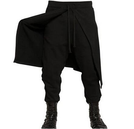 Can Be Faux Moda Puede Customized Harem Culottes Personalizar Dos Se Personalidad Pantalones 2018 Pieza q7gwwP0Y