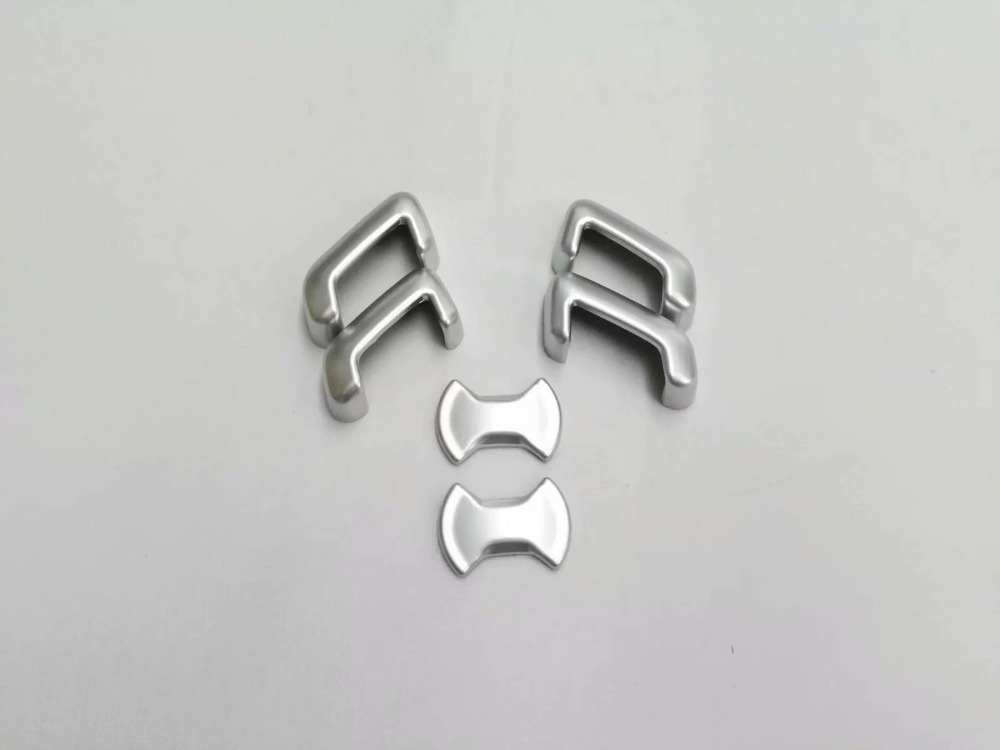 ABS Car Seat adjustment Switch cover trim 6pcs for VW Volkswagen Golf 7 MK7 accessories car