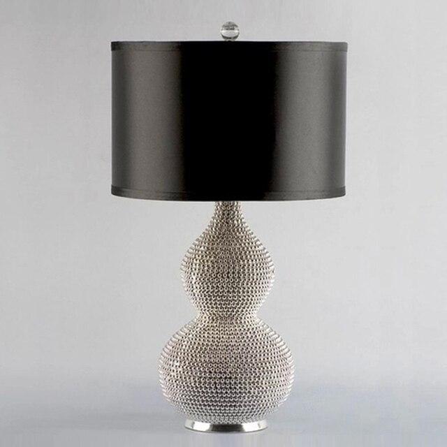 breve moderno calabaza forma mesita de noche lmparas e luz del escritorio para home decors dormitorio saln arte de la luz iluminacin