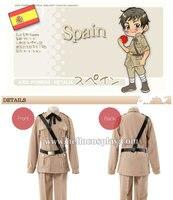 Hetalia Axis Powers Spain Military Uniform H008