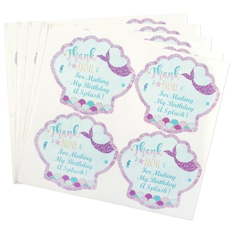 mermaid party plates W1551-00-16