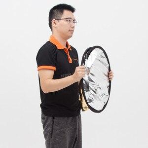 Image 5 - Портативный Овальный многодисковый отражатель Godox 2 в 1 100x150 см, складной рассеиватель света для фотостудии, фотокамеры