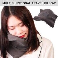 Comfoft шарф подушка для путешествий портативный самолет глава отдых, сон сна массаж поддержка головные уборы памяти Текстиль