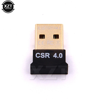 1pcs USB mini Bluetooth Dongle 4.0 CSR v Dual Mode Wireless Adapters For Windows 8/10 hot sale