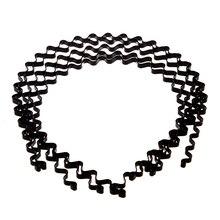 MYPF-5 шт hairband оголовье УНИСЕКС из металла для Футбол Бег 5 мм Черный