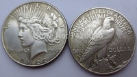 90% silver Date 1922 peace Dollars copy coins High Quality