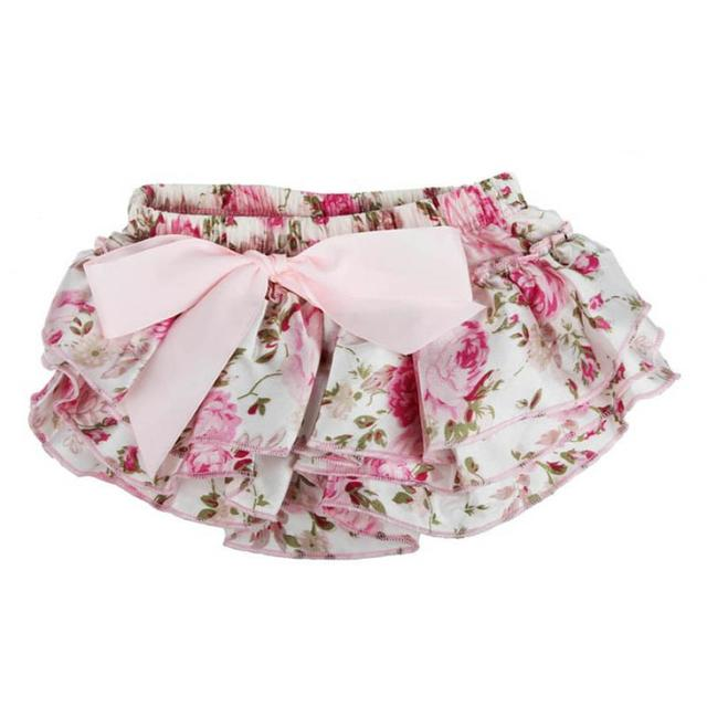 Baby Flower Shorts Style Skirts