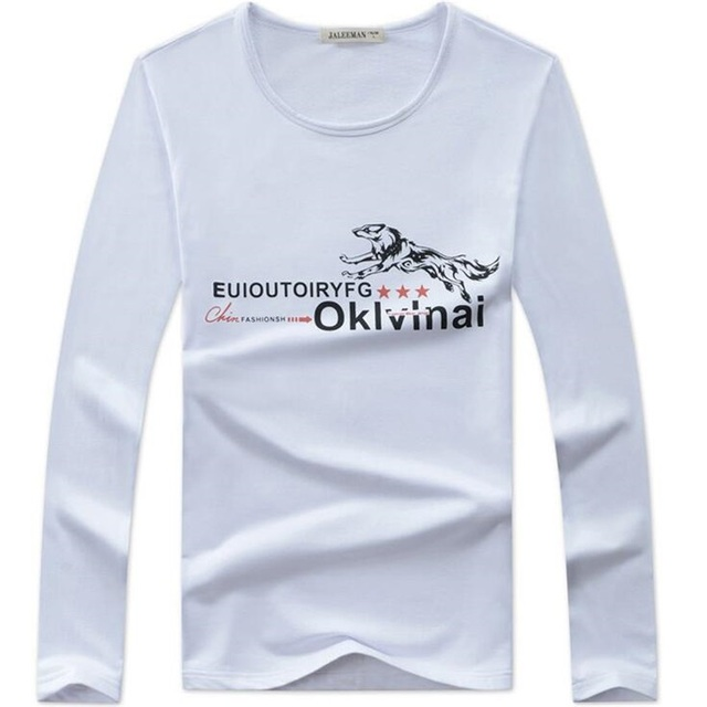 64a40e72463955 Modische T-shirt Kinder T-shirt Langarm Frühling Herbst Brief Oansatz  teenager Jungen Kleidung