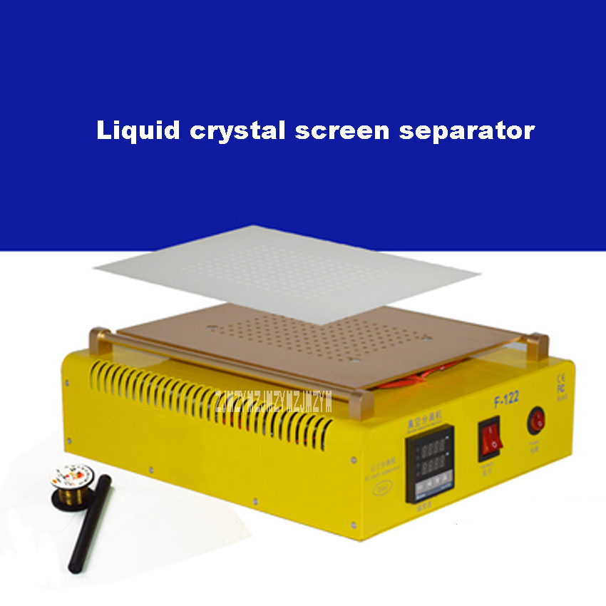 New Arrival 220V 12 Inch Liquid Crystal Screen Separator F122 LCD Screen Touch Display Vacuum Split Screen Separator Hot Selling free shipping original new 10 1 inch tsinghua tongfang k10 display hsx101n31p a b inner screen hsx101n31a m27b liquid crystal