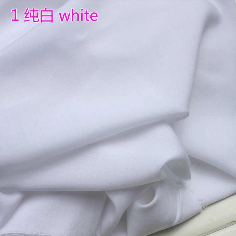 """Biały tkanina wiskozowa tkanina bawełniana tkanina jedwabna sztuczna tkanina spódnica tkanina 60 """"szerokości sprzedawane przez stocznię bezpłatna wysyłka!"""