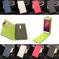 High Quality Green Bottom Original For XiaoMi RedMi Note 4 Leather Case Flip Cover For XiaoMi