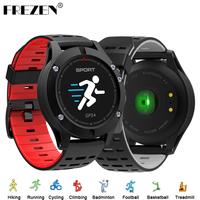 FREZEN F5 Smart Watch Bluetooth Smartwatch with Pedometer Altimeter Thermometer GPS Watch Heart Rate Sport Watch for IOS Android