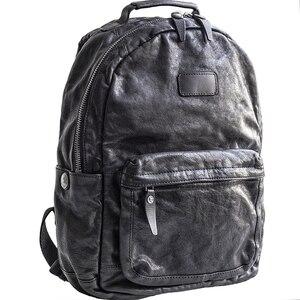Image 2 - إيتوو حقيبة ظهر عصرية للرجال بطبقات باوتو من الجلد لاتجاه الشارع
