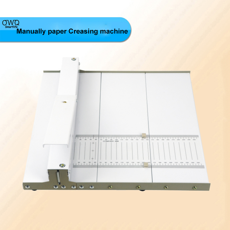 NEW A3+ Manually paper Creasing machine , paper creaser Y350 for Creasing Length 350mm ,tank width /deep 0.8mm  3pc brand new manual paper creaser creasing machine 350mm a3 a4 card covers high gloss covers