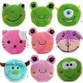 2017 Kids Gift Plush Frog Wallets Cartoon Women Coin Purses Mini Money Pouch Female Coin Storage Wallets