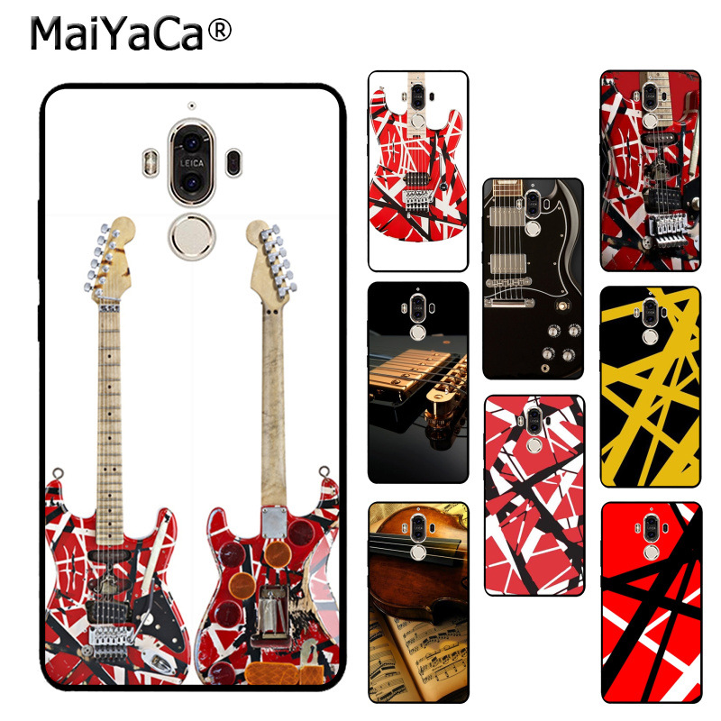 8c5a308f3f0 Detail Feedback Questions about MaiYaCa Eddie Van Halen Graphic Guitar  Phone Accessories Case for Huawei p20 pro p9 p10 plus mate9 10 nove 3e case  coque on ...