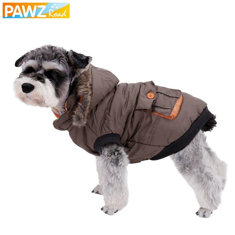 ᗕAl por mayor de ropa para mascotas Invierno Caliente perro algodón ...