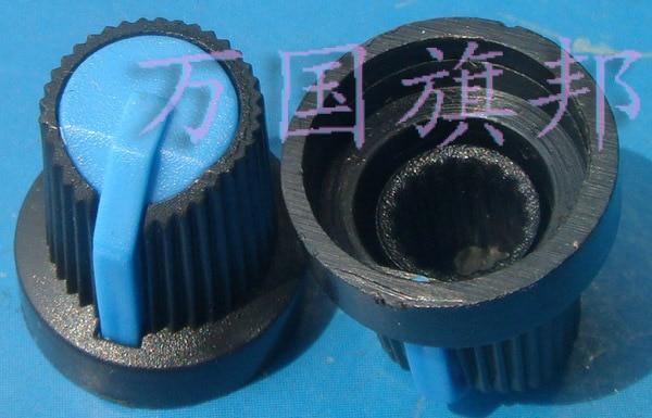 Free Delivery. Environmental Protection Plastic Potentiometer Knob High 16 Mm Diameter 15 Mm Blue Head Dark Blue