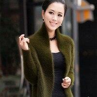 Норковый кашемировый свитер осень зима новое поступление натуральный мех модный кардиган шаль утолщенные короткий параграф пальто