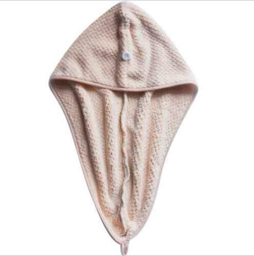 매직 헤어 드라이어 타올 모자 + 착용 스파 슬리퍼 슬리핑 타올 마이크로 화이버 퀵 드라이 터번 캡 목욕 샤워 풀