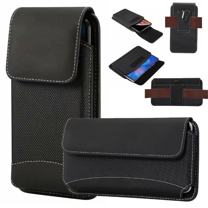Yelun For Xiaomi Mi9/Redmi NOTE 7/Mix 3 Carrying Case Belt Clip Holster Durable Oxford Cloth Camping Hiking Outdoor Holster Bag
