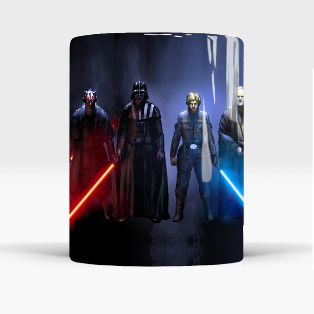 star wars mugs coffee mug friend gifts novelty heat reveal cup heat changing color magic mug tea cups 2